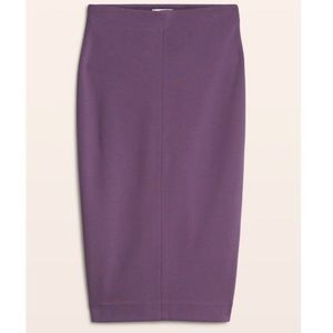 Aritzia purple pencil skirt